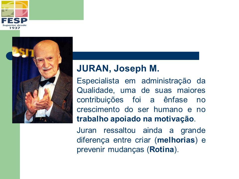 JURAN, Joseph M.