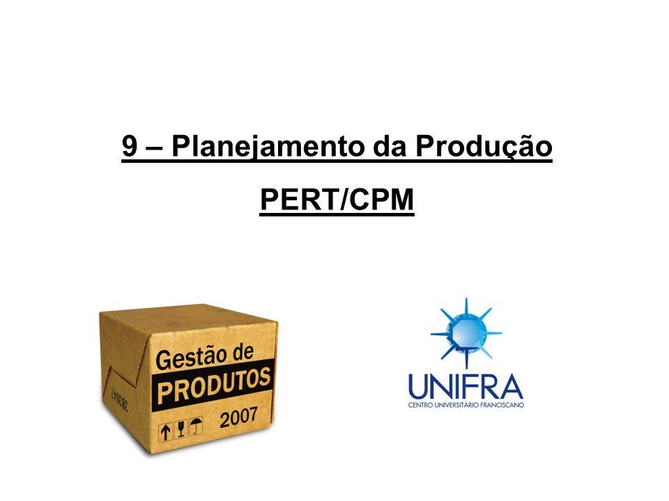 9 – Planejamento da Produção