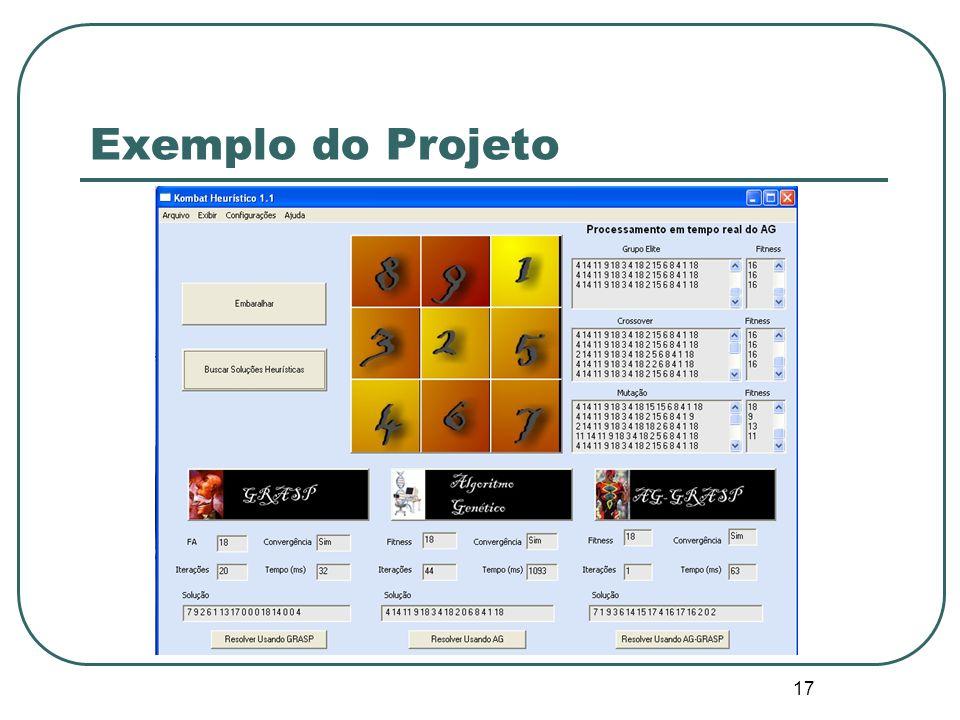 Exemplo do Projeto