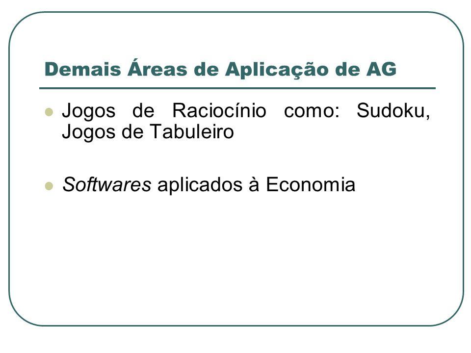 Demais Áreas de Aplicação de AG