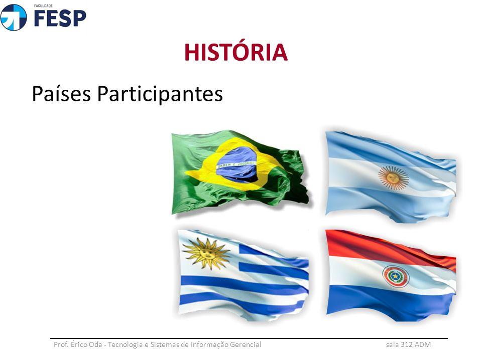 HISTÓRIA Países Participantes