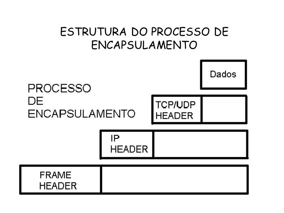 ESTRUTURA DO PROCESSO DE ENCAPSULAMENTO