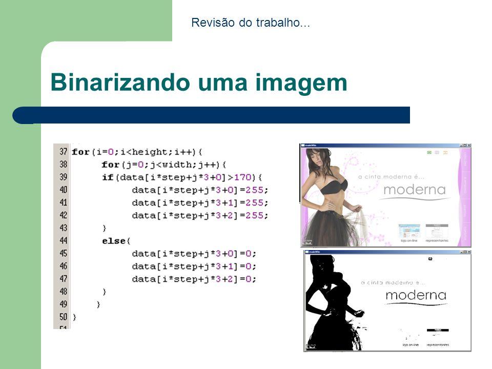 Binarizando uma imagem