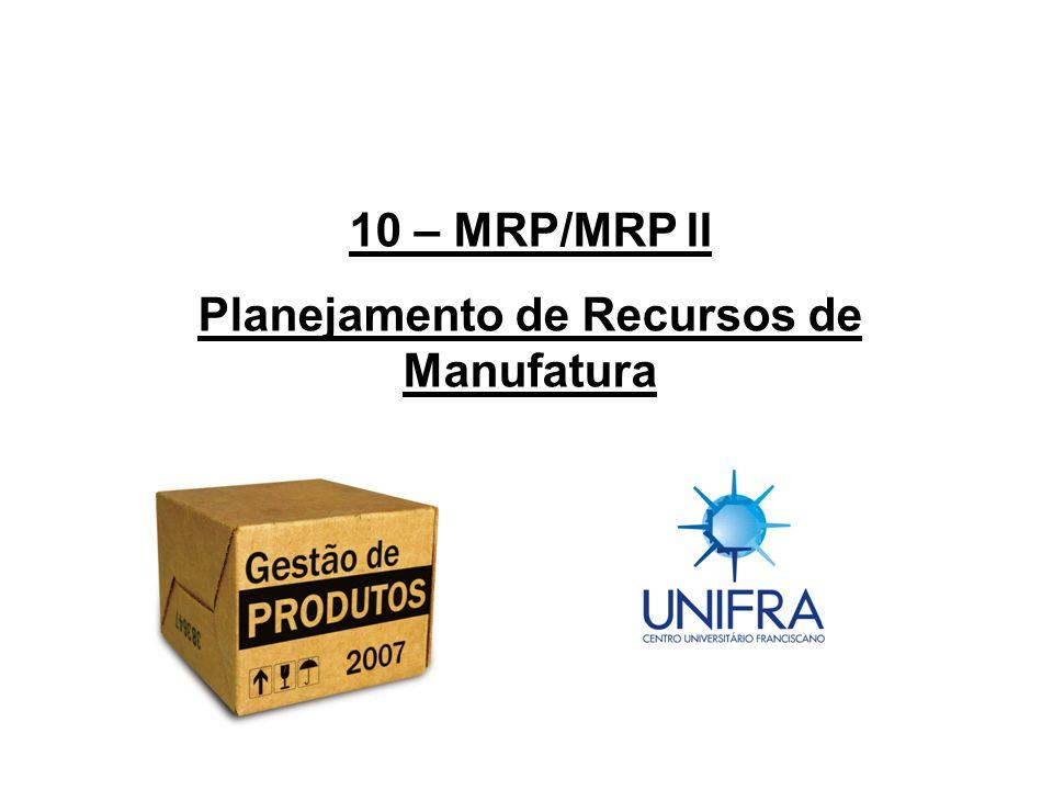 Planejamento de Recursos de Manufatura