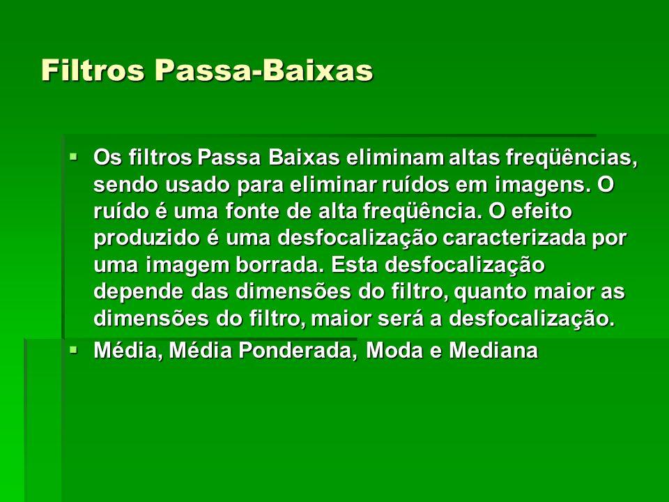 Filtros Passa-Baixas