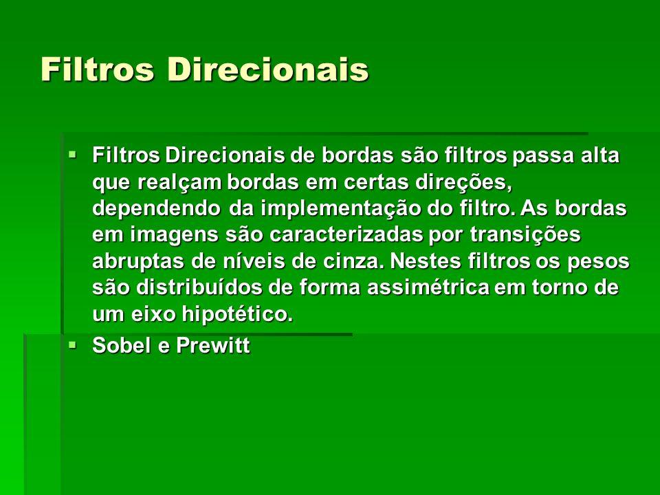 Filtros Direcionais