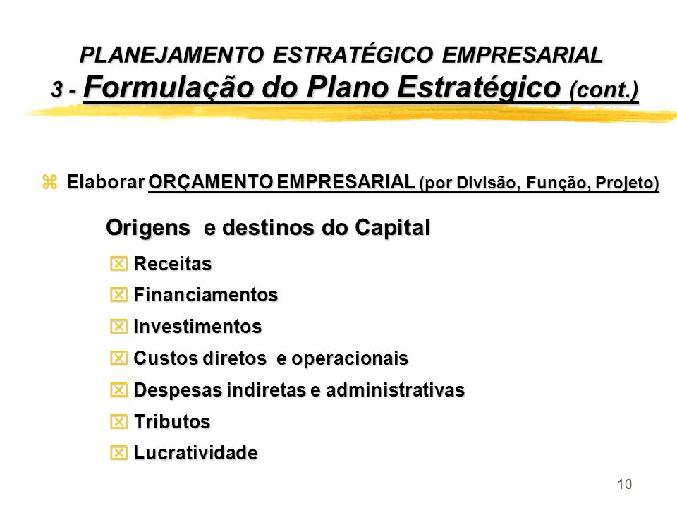 Origens e destinos do Capital