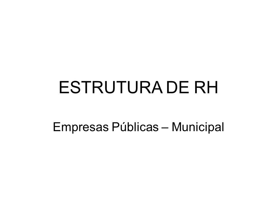 Empresas Públicas – Municipal