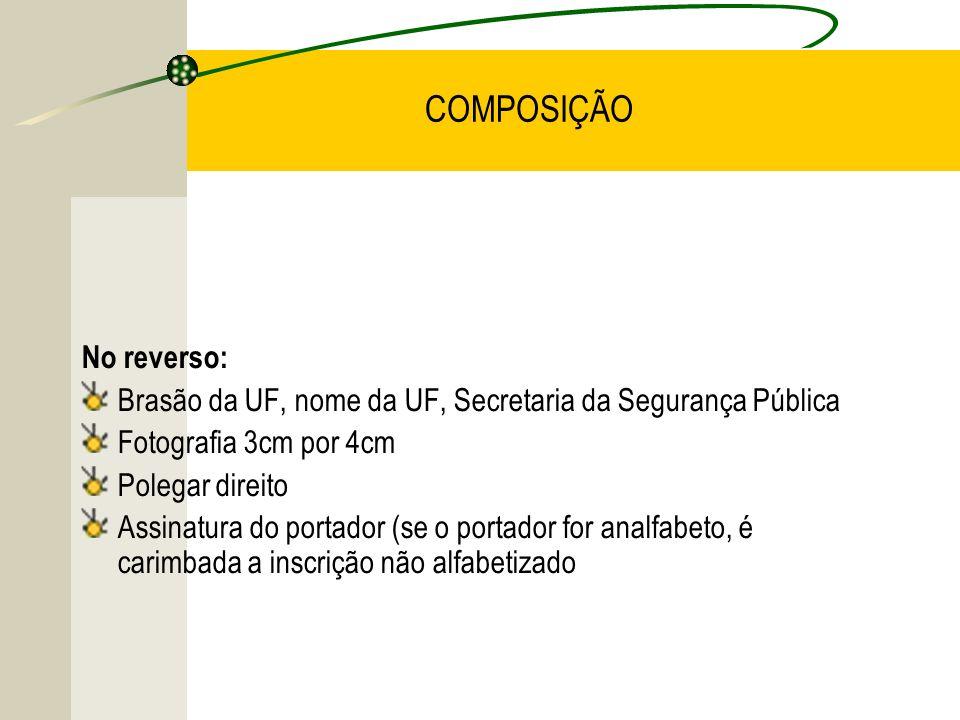 COMPOSIÇÃO No reverso: