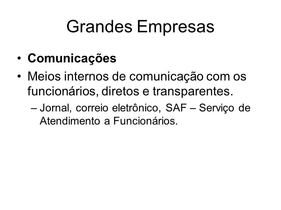 Grandes Empresas Comunicações