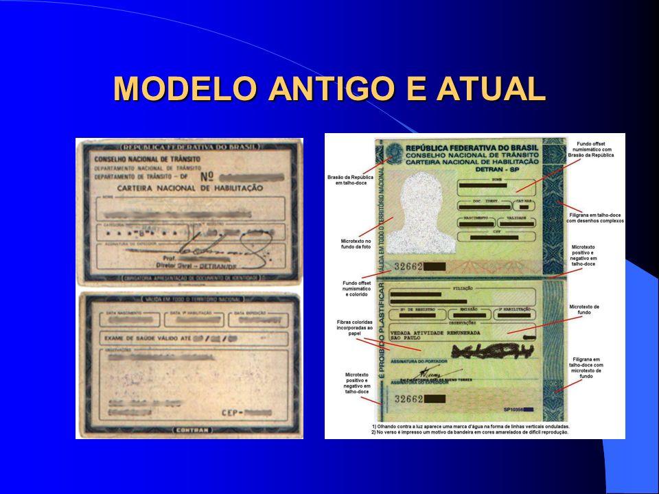 MODELO ANTIGO E ATUAL