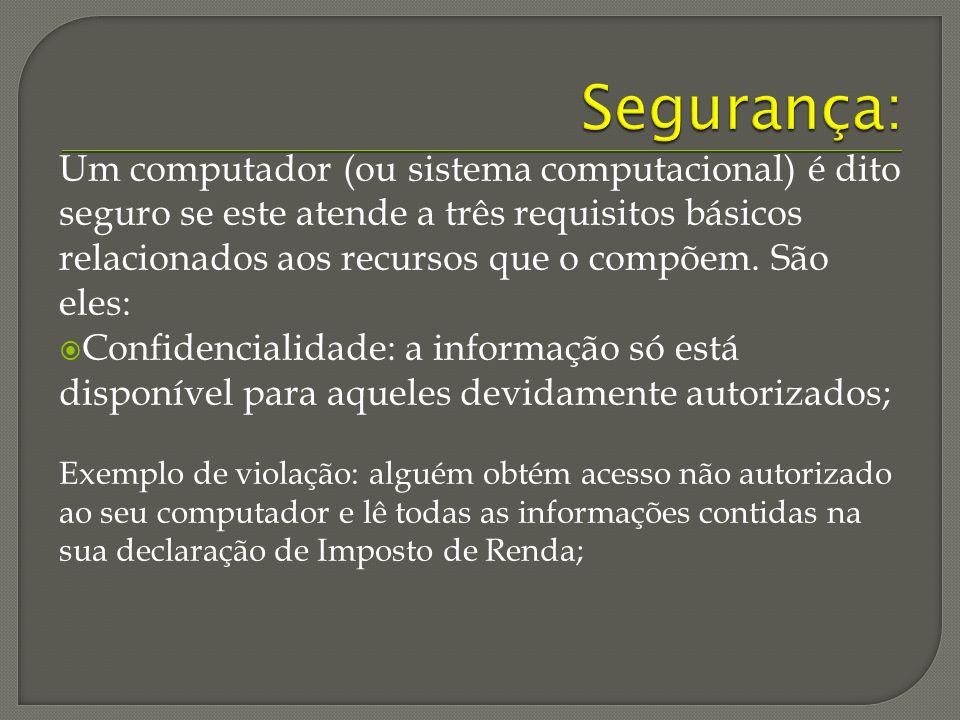 Segurança: