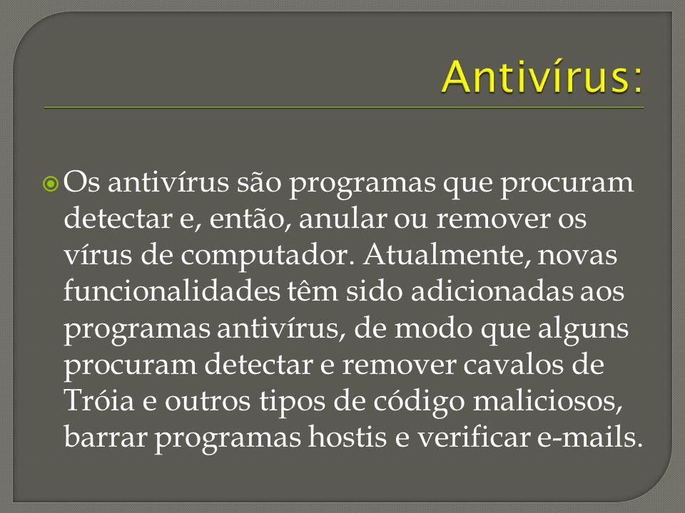 Antivírus: