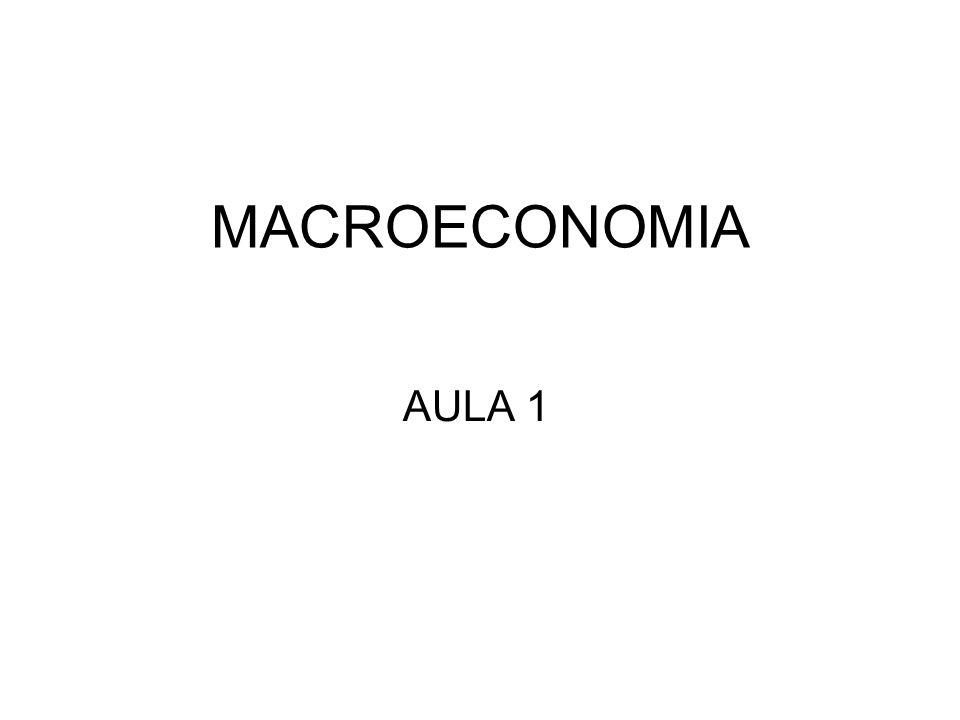 MACROECONOMIA AULA 1