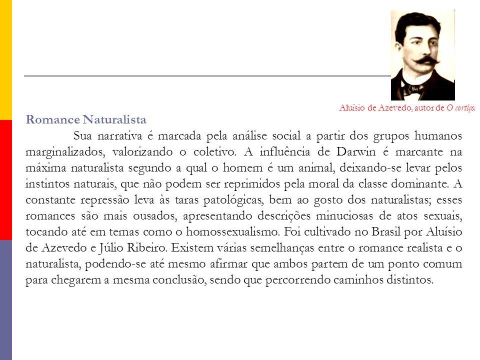 Aluísio de Azevedo, autor de O cortiço.