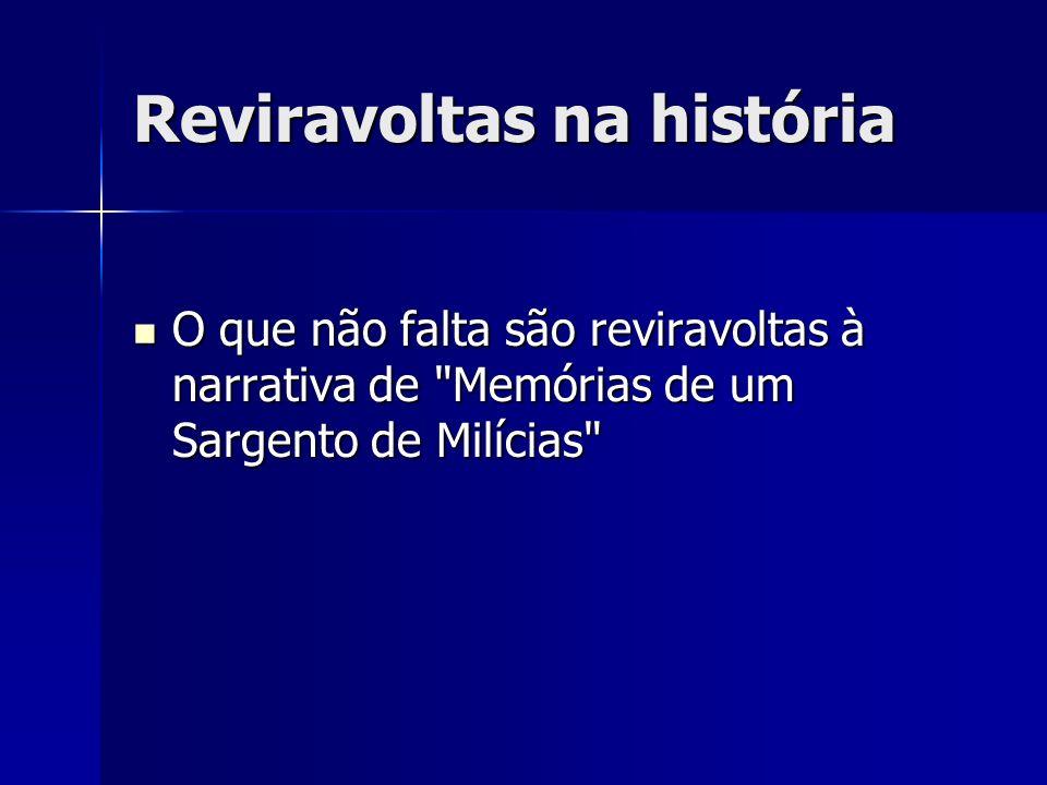 Reviravoltas na história