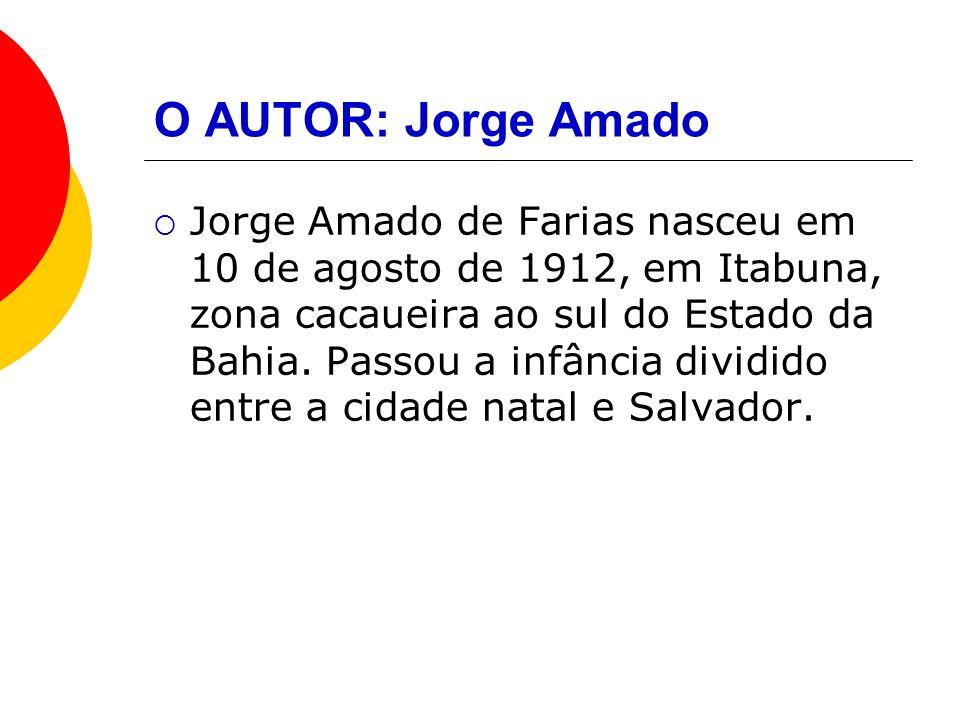 O AUTOR: Jorge Amado