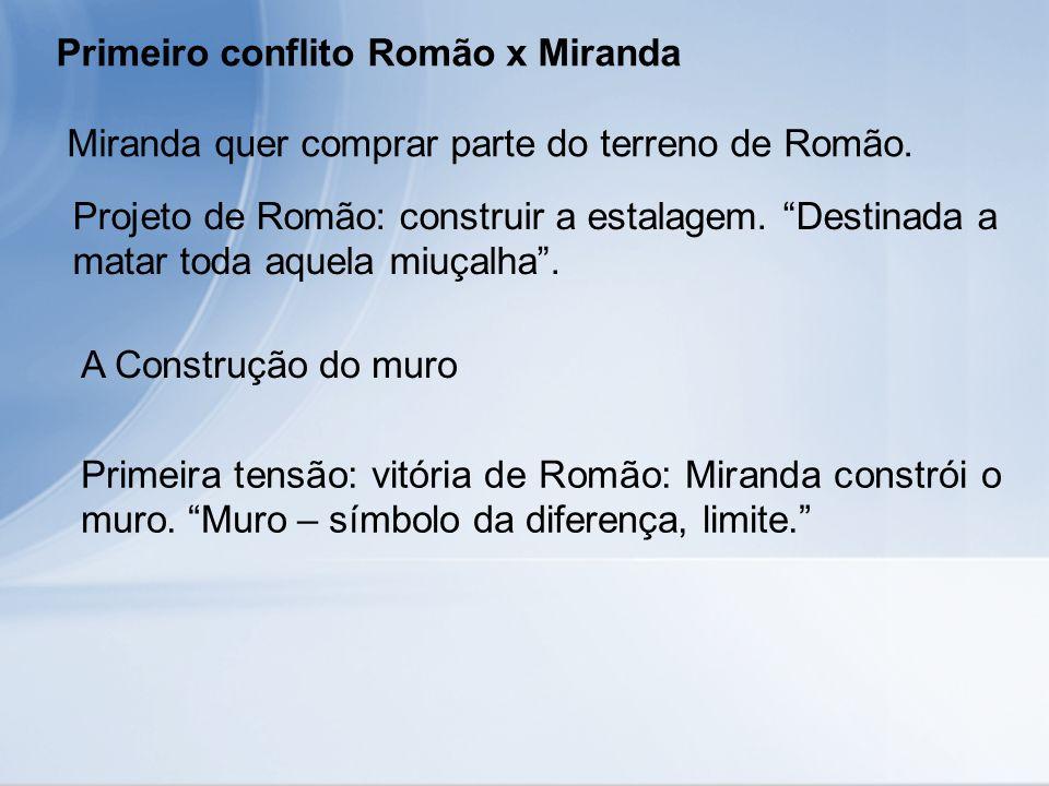Primeiro conflito Romão x Miranda