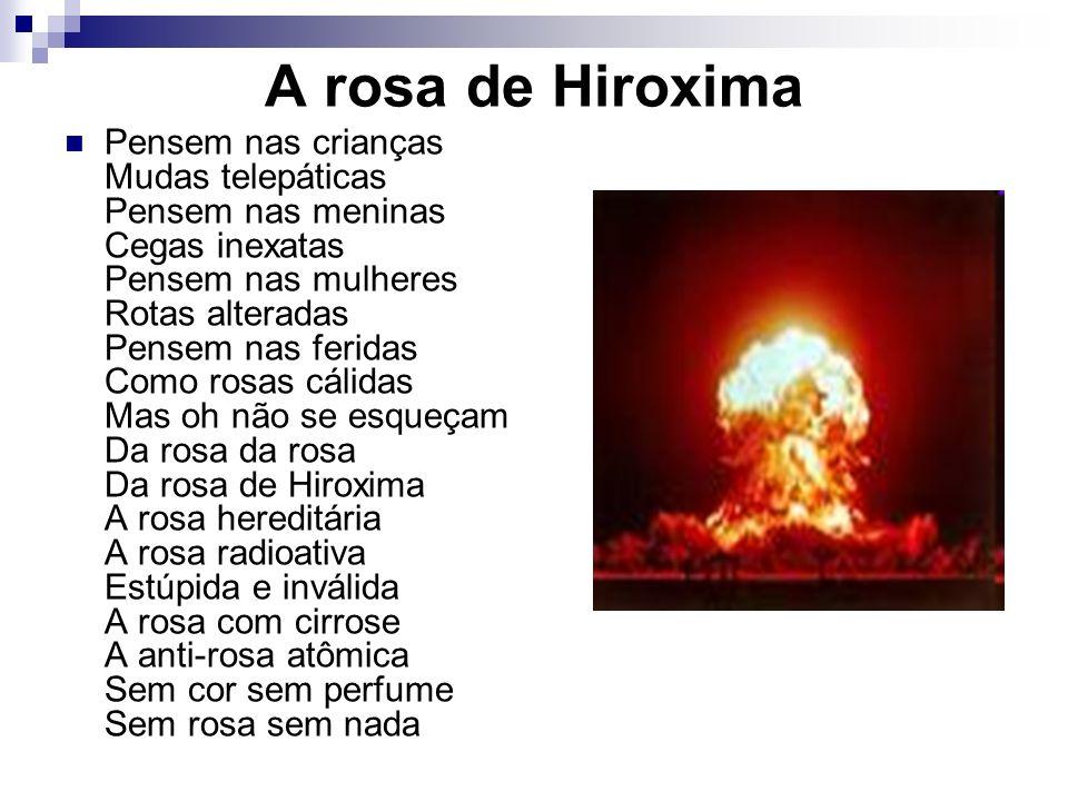 A rosa de Hiroxima