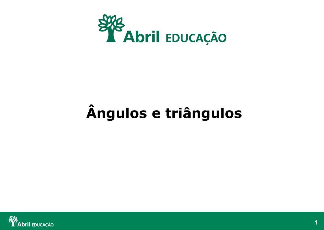Ângulos e triângulos