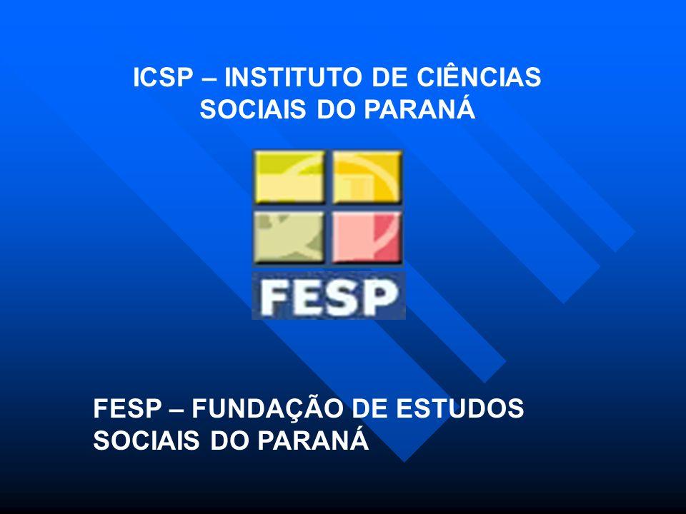 ICSP – INSTITUTO DE CIÊNCIAS SOCIAIS DO PARANÁ