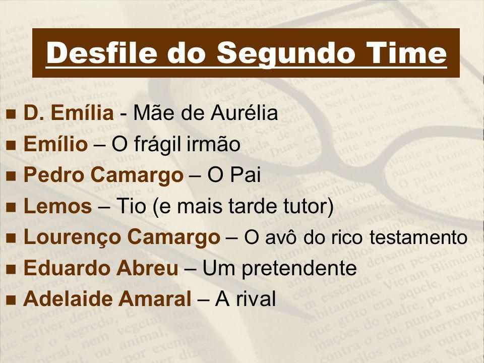 Desfile do Segundo Time