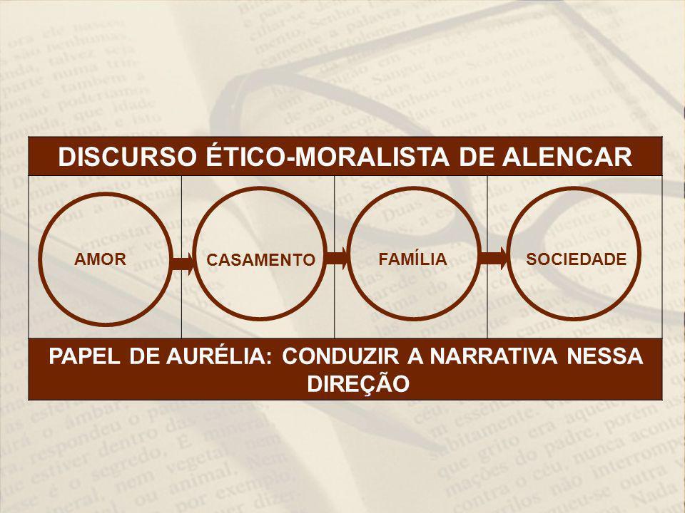 DISCURSO ÉTICO-MORALISTA DE ALENCAR