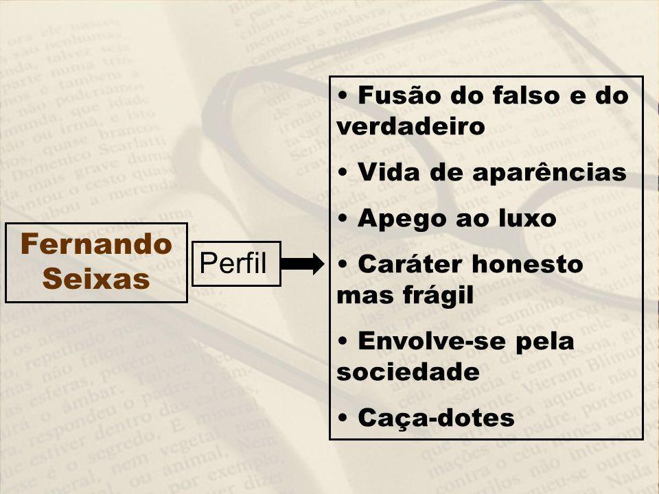 Fernando Seixas Perfil Fusão do falso e do verdadeiro