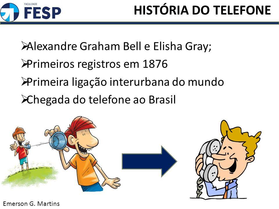 HISTÓRIA DO TELEFONE Alexandre Graham Bell e Elisha Gray;