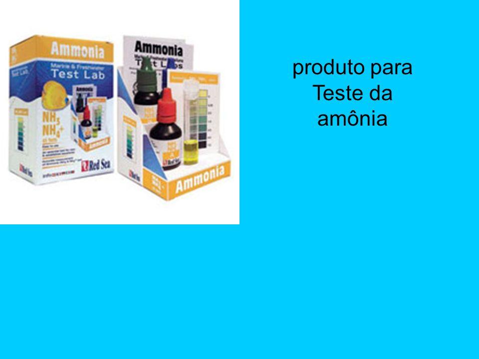 produto para Teste da amônia