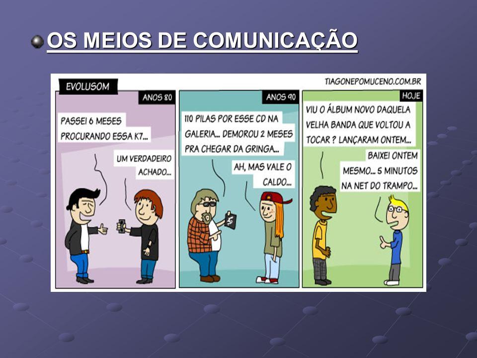 OS MEIOS DE COMUNICAÇÃO