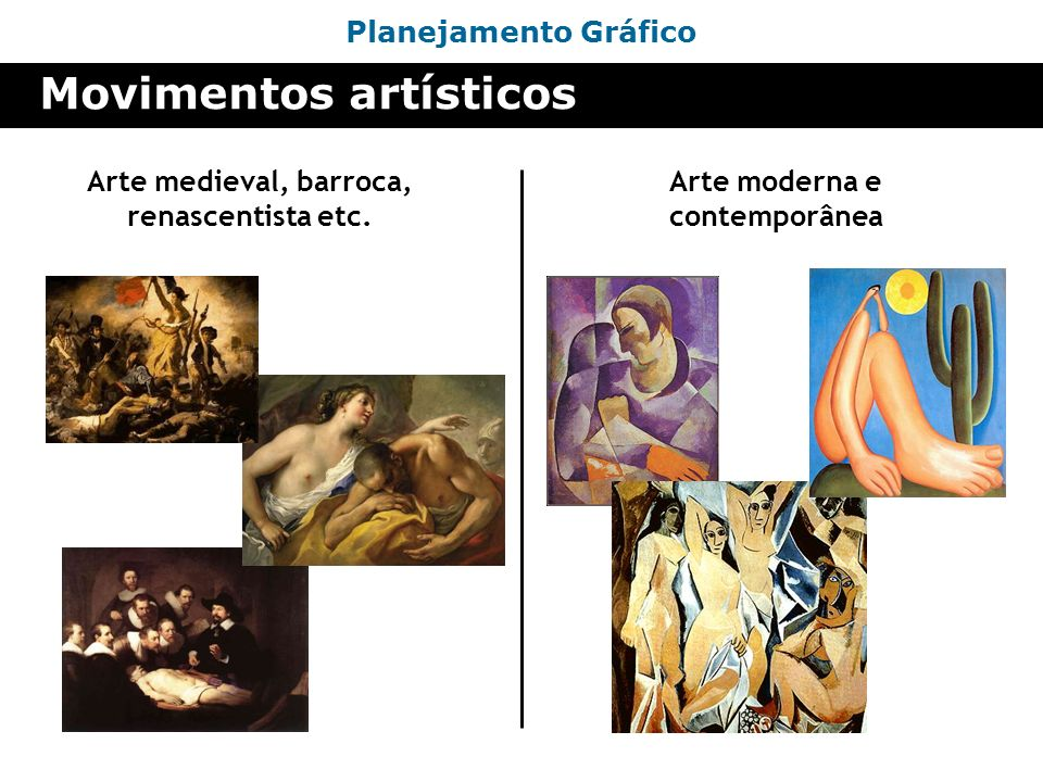 Movimentos artísticos