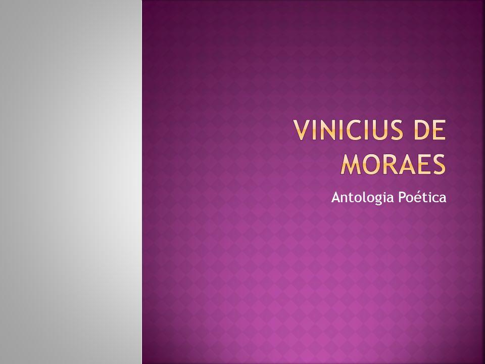 Vinicius de Moraes Antologia Poética