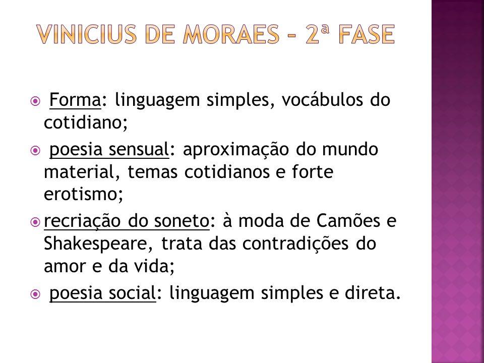 Vinicius de moraes – 2ª fase