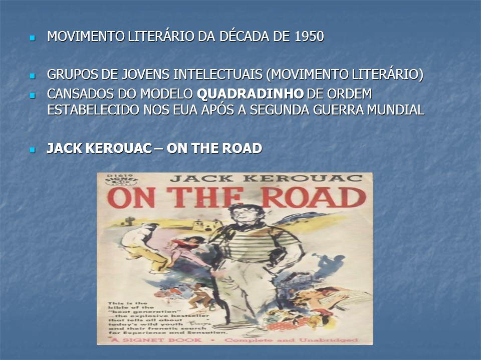 MOVIMENTO LITERÁRIO DA DÉCADA DE 1950