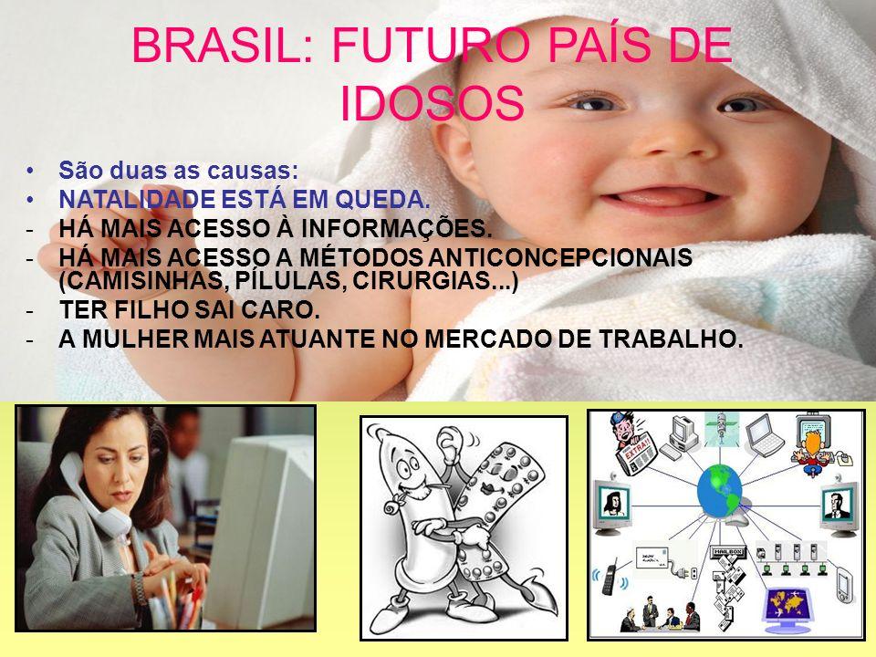 BRASIL: FUTURO PAÍS DE IDOSOS