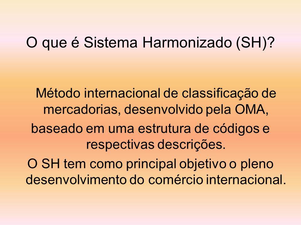 O que é Sistema Harmonizado (SH)