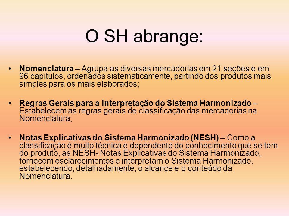 O SH abrange: