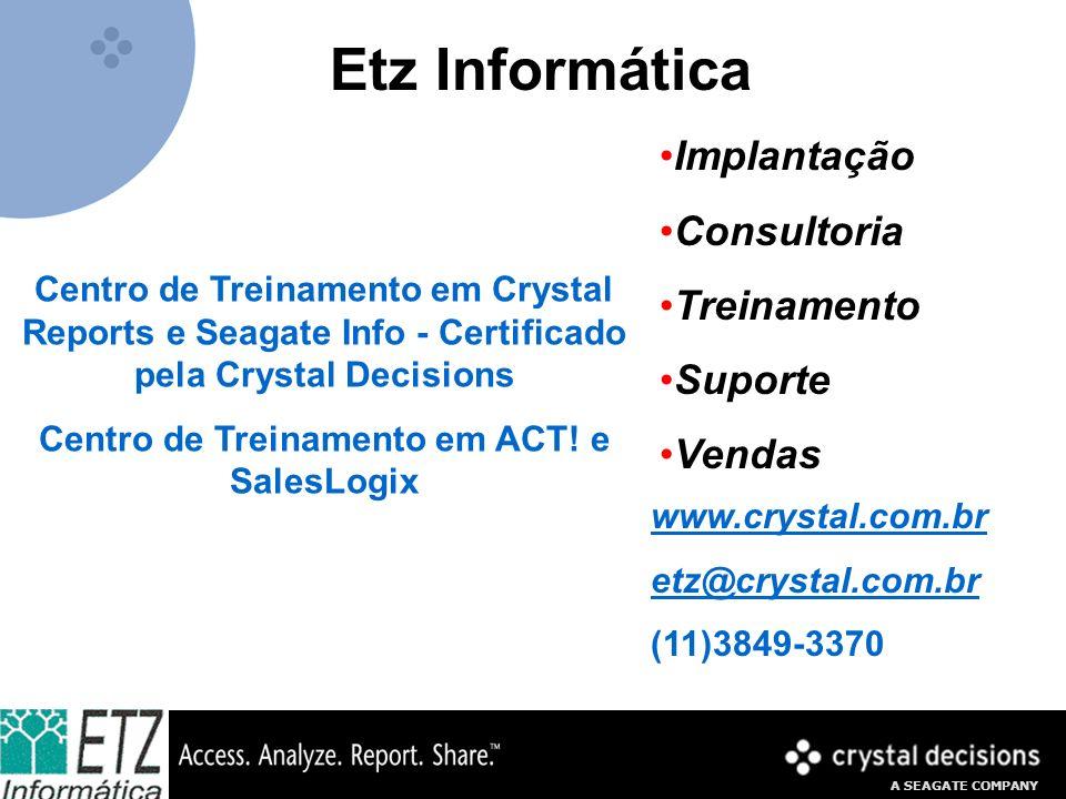 Centro de Treinamento em ACT! e SalesLogix