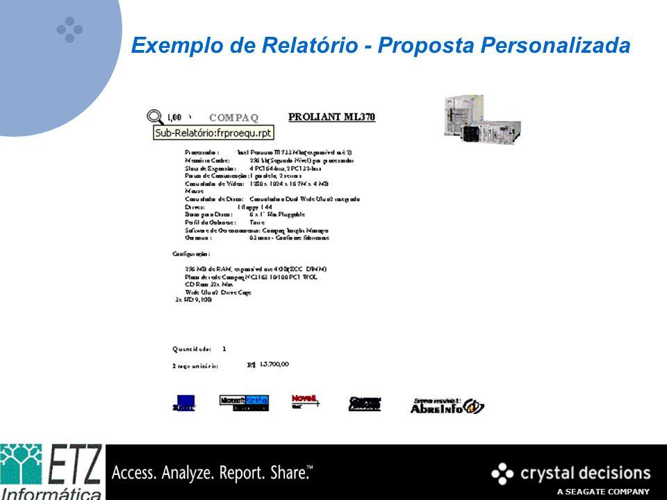 Exemplo de Relatório - Proposta Personalizada