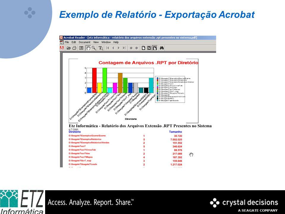 Exemplo de Relatório - Exportação Acrobat