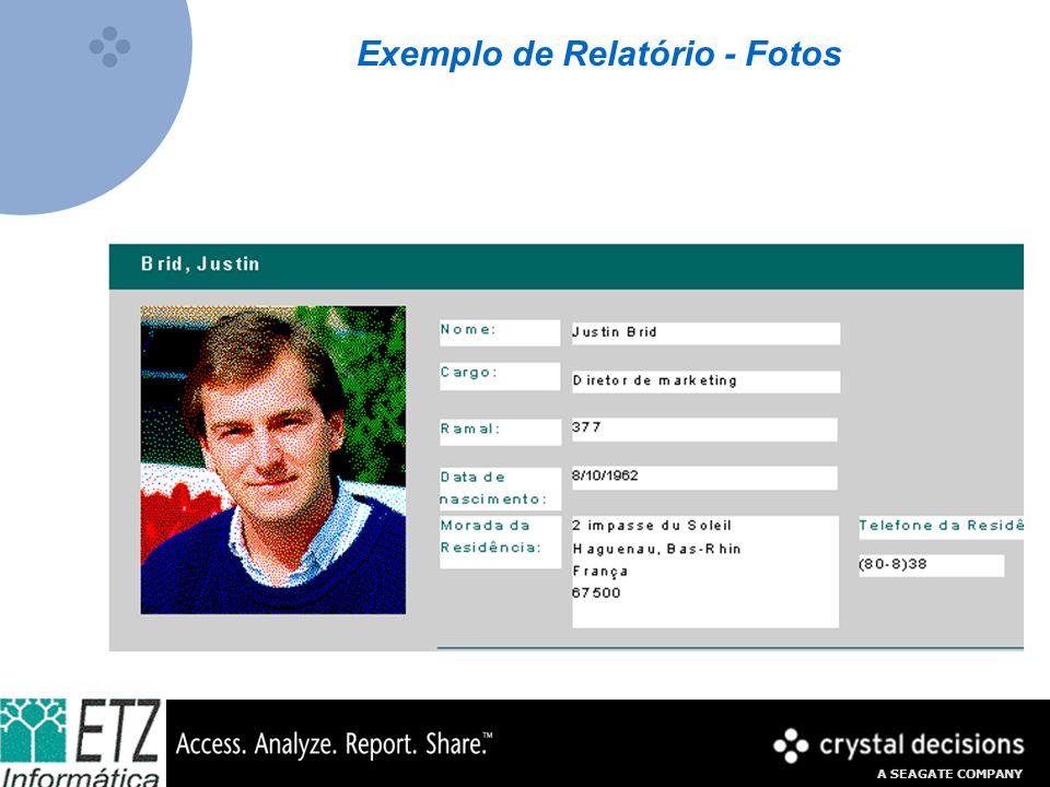 Exemplo de Relatório - Fotos