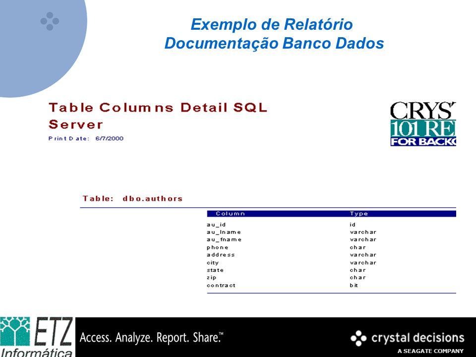 Documentação Banco Dados