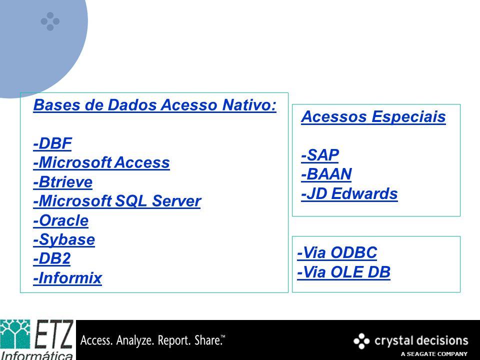 Bases de Dados Acesso Nativo: