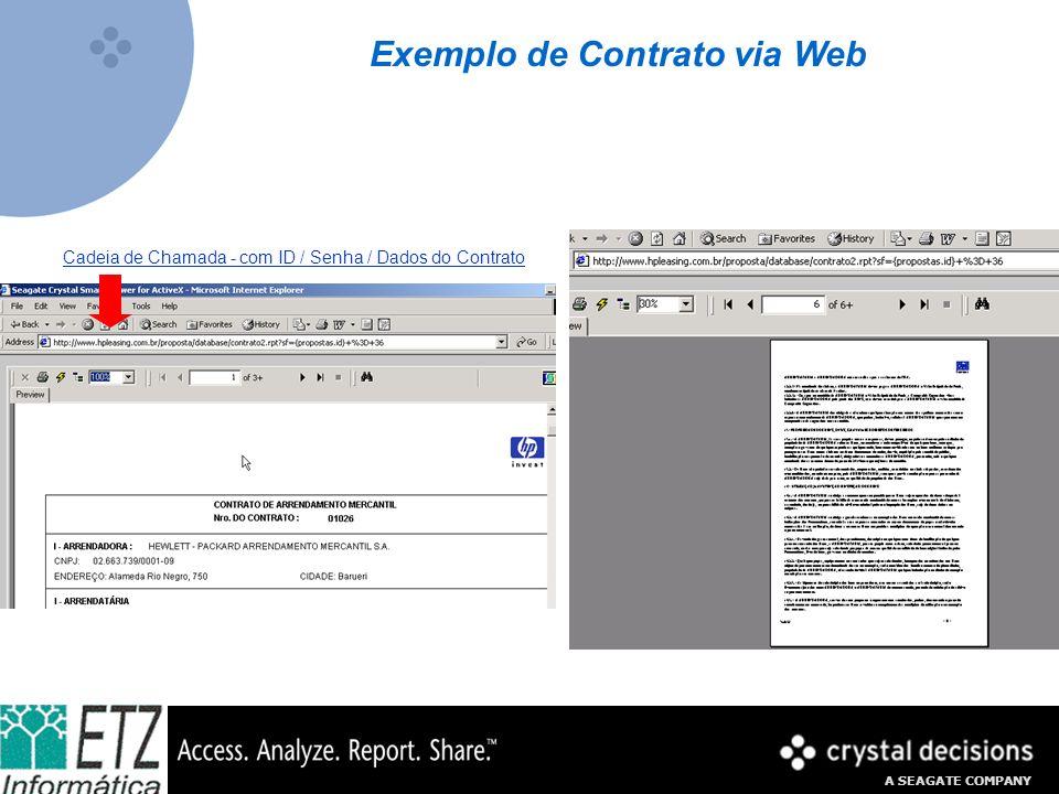 Exemplo de Contrato via Web