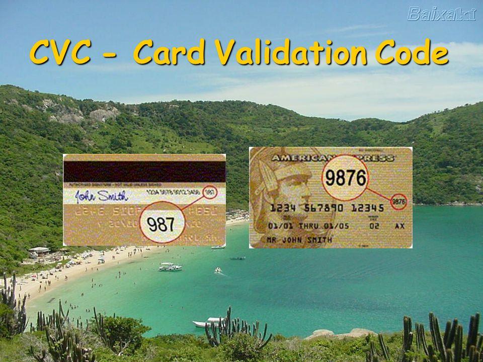CVC - Card Validation Code