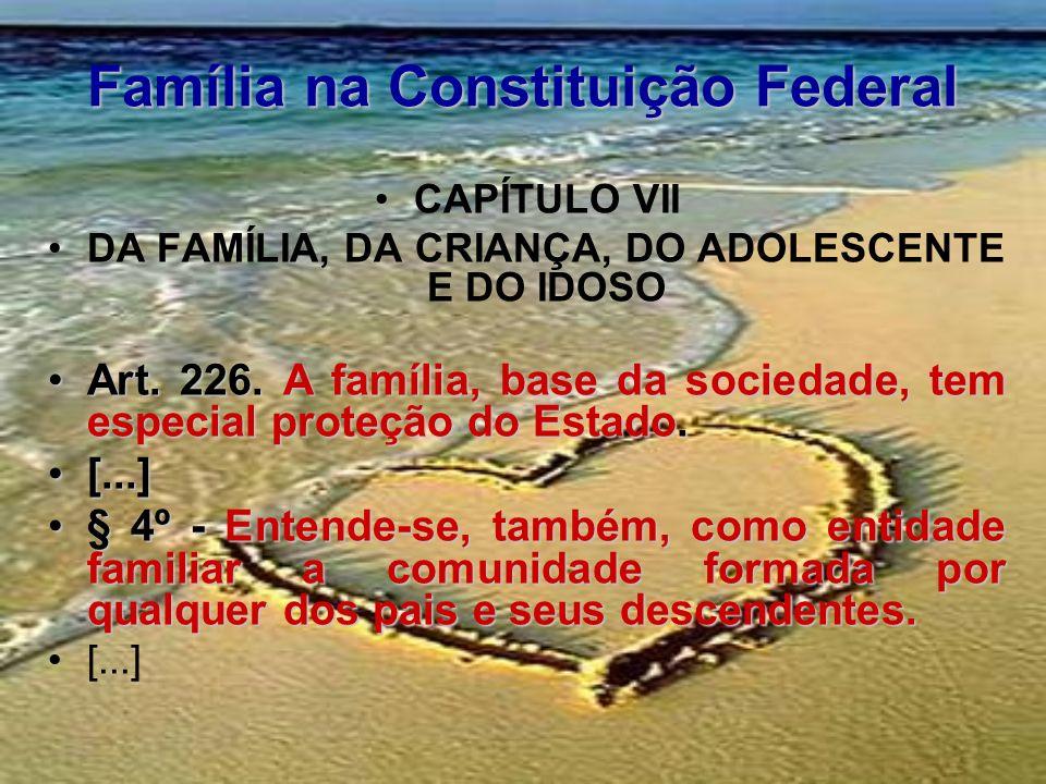 Família na Constituição Federal