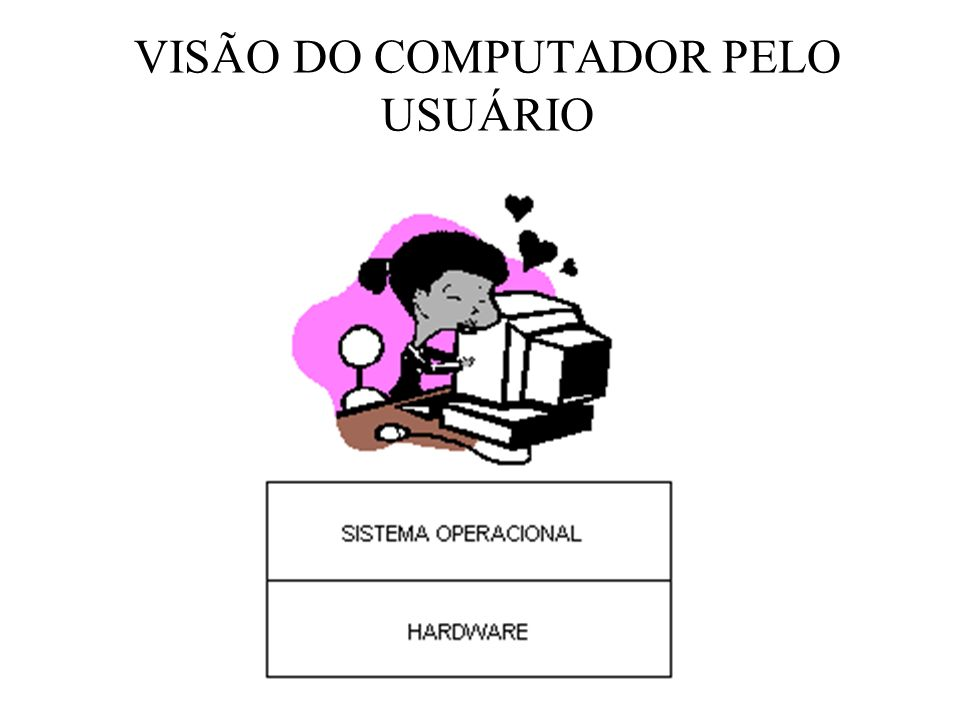 VISÃO DO COMPUTADOR PELO USUÁRIO