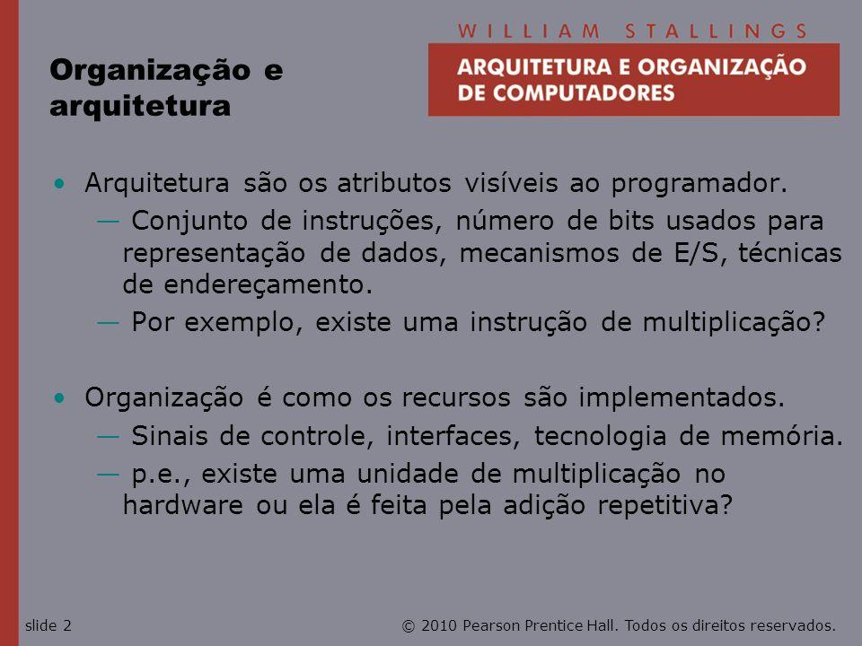 Organização e arquitetura