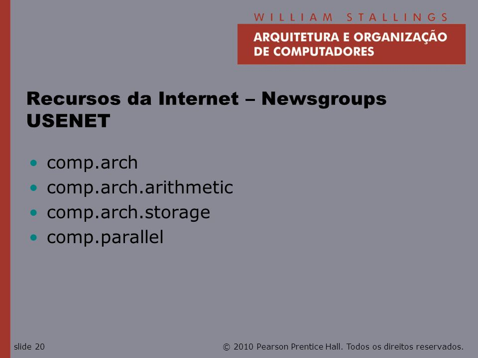 Recursos da Internet – Newsgroups USENET